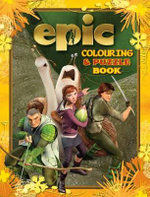 Epic Colouring and Puzzle Book - Five Mile Press The