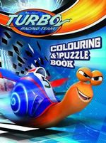 Turbo Colouring and Puzzle Book - The Five Mile Press