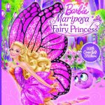 Barbie Mariposa And The Fairy Princess Story Book : With Over 50 Stickers - Mattel Inc.