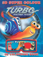 Turbo 3D Colouring Book - The Five Mile Press