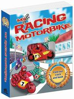 My Racing Motorbike : Fold-out track and book - Gaston Vanzet