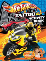 Hot Wheels Tattoo Activity Book - The Five Mile Press