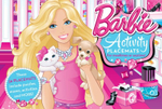 Barbie : Activity Placemats : These 36 Placemats include puzzles, mazes, activities and MORE! - The Five Mile Press