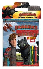 How to Train Your Dragon 2  : Colouring and Activity Pack - The Five Mile Press