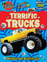 Extreme Machine Activity Book : Terrific Trucks - Autumn Publishing