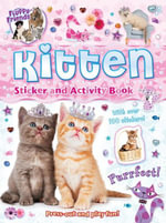 Fluffy Friends Sticker Book : Kitten - Autumn Publishing