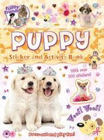 Fluffy Friends Sticker Book : Puppy - Autumn Publishing