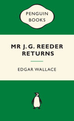 Mr J G Reeder Returns : Green Popular Penguins - Edgar Wallace