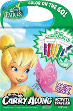 Imagine Ink Carry Along Activity Traveler : Disney Fairies