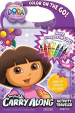 Imagine Ink Carry Along Activity Traveler : Dora the Explorer