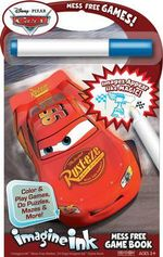 Imagine Ink Mess Free Game Book : Cars