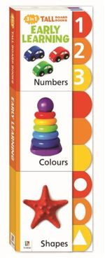 Early Learning 3 in 1 Tall Board Books