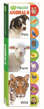 Animals 3 in 1 Tall Board Books