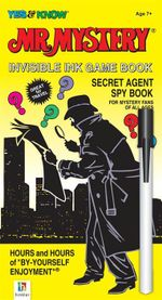 Mr Mystery Invisible Ink Game Book