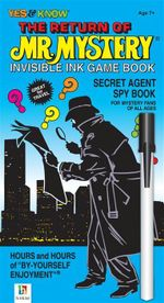 Return of Mr Mystery Invisible Ink Game Book
