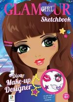 Diva Make-Up Designer Glamour Girl Sketchbook : Diva Make-Up - Hinkler Books