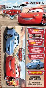 Disney Pixar Cars 70 Magnetic Pieces : Magnetic Fun Tin Small
