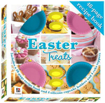 Easter Treats : 8x8 Gift Box Includes 48 page Recipe Book, 4 Silicone Cupcake Holders and 4 Cake Toppers - Hinkler Books