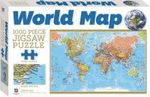 World Map : 1000 Piece Jigsaw Puzzle