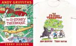 The 13-Storey Treehouse : T-Shirt and Book Pack : The Treehouse Series : Book 1 - Andy Griffiths