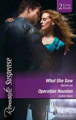 What She Saw/operation Reunion - Lee, Justine Davis Rachel