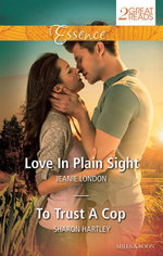 Love In Plain Sight/To Trust A Cop : Love In Plain Sight / To Trust A Cop - Jeanie London