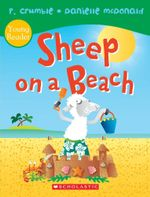 Sheep on a Beach - P. Crumble