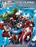 Avengers Assemble : Colouring and Activity Book (Starring Captain America)