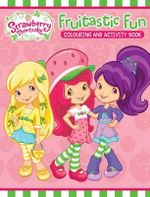 Strawberry Shortcake Colouring & Activity