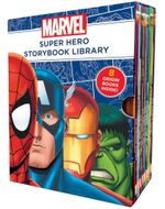 Marvel Super Hero Storybook Library : 8 Origin Books Inside!
