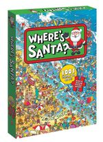 Where's Santa? : Book and Jigsaw Puzzle Boxed Set - Louis Shea