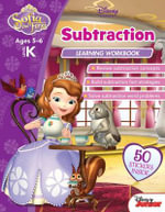 Sofia the First : Subtraction Learning Workbook