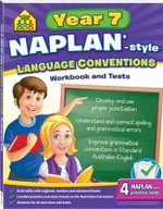 Naplan Style Workbook and Tests Year 7 Language Convention : Year 7  Language Convention - School Zone