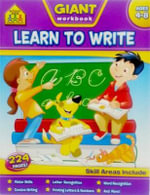Giant Workbook Learning to Write : School Zone - School Zone