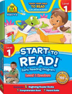 Start to Read! Early Reading Program - Level 1 Readers