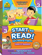 Start to Read! Early Reading Program - Level 3 Readers : Level 3 Readers - School Zone