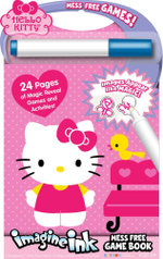 Mess Free Game Book Hello Kitty