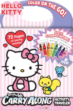 Carry Along Activity Traveler Hello Kitty