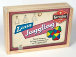 Juggling Retro Wooden Box