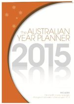 Australian Year Planner 2015