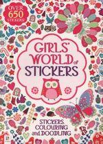 Girls' World of Stickers Michael O'Mara