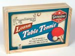 Retro Wooden Boxes : Table Tennis