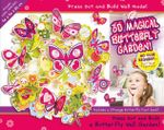 3D Magical Butterfly Garden! Press Out and Build Wall Model