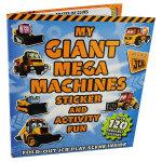 JCB My Giant Mega Machines Sticker and Activity Fun