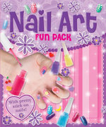 Nail Art Fun Pack : with Pretty Stick-on Nails