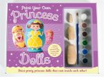 Paint Your Own Princess Dolls Gift Box