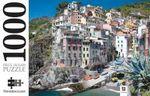 Riomaggiore, Cinque Terre, Italy  : 1000 Piece Jigsaw