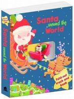 Santa's Sleigh Book and Track - Santa Around the World - Kerry Timewell