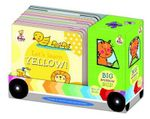 Baby Steps Big Rainbow Bus X8 Boxset - Katie Saunders