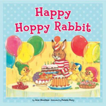 Happy Hoppy Rabbit - June Woodman